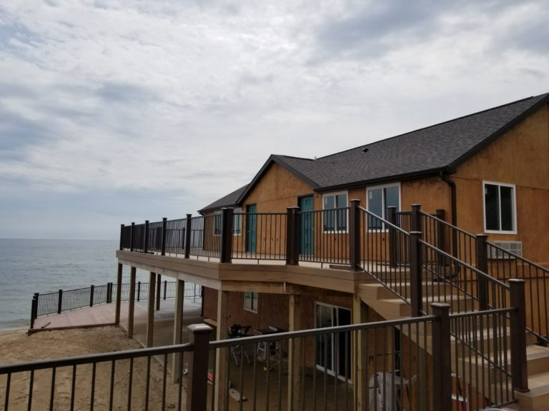 Crystal Sands Beach Resort Features An Historic Newly Renovated Boathouse Nestled Just Feet Away From The Clear Waters Of Lake Huron